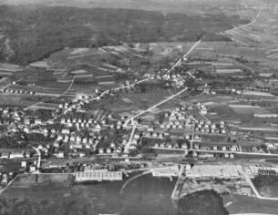 luftbild wallisellen 1921