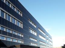 Die Solarfassade der K3 Handwerkcity
