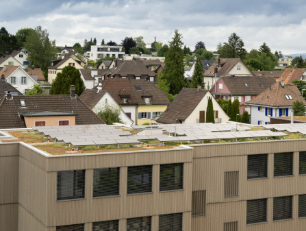 Solaranlage Mehrfamilienhaus in Wallisellen